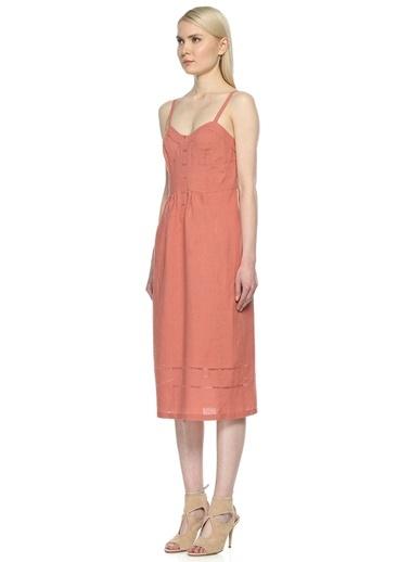 Askılı Midi Elbise-Intropia